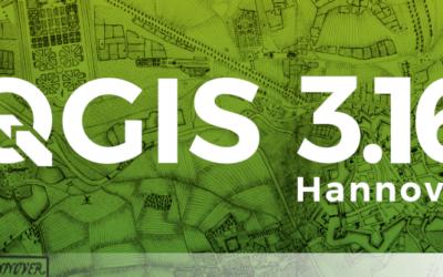 QGIS 3.16 LTR (Version Long Terme)